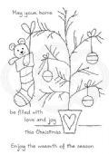Woodware - Twiggy Tree - Clear Magic Stamp Set - FRS714